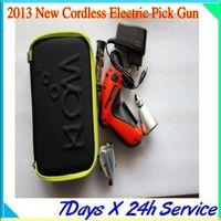 Wholesale electric jaguar online - Klom New Cordless Electric Pick Gun free ship by DHL