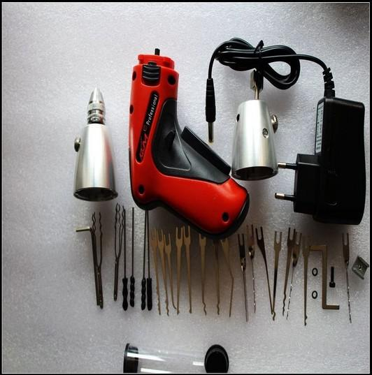 Nova ferramenta de serralheiro elétrico sem fio Pick Gun KLOM LOCK PICK