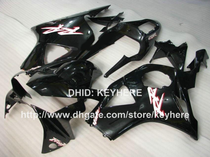 Kit carena in plastica ABS HONDA CBR900RR 2002 2003 CBR900RR 954 02 03 954RR 02 03 carenature carrozzeria aftermarket moto nero G8a