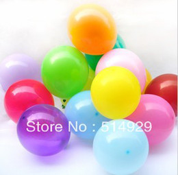 Wholesale Pearl Hotel Decoration For Birthday - 200 pcs pure pearl color ballons latex wedding decoration balloon for party,hotel,birthday,carnival