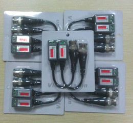 Camera CCtv bnC video balun online shopping - CAT5 CCTV Camera BNC Video Balun Transceiver Cable Network No power required Pairs