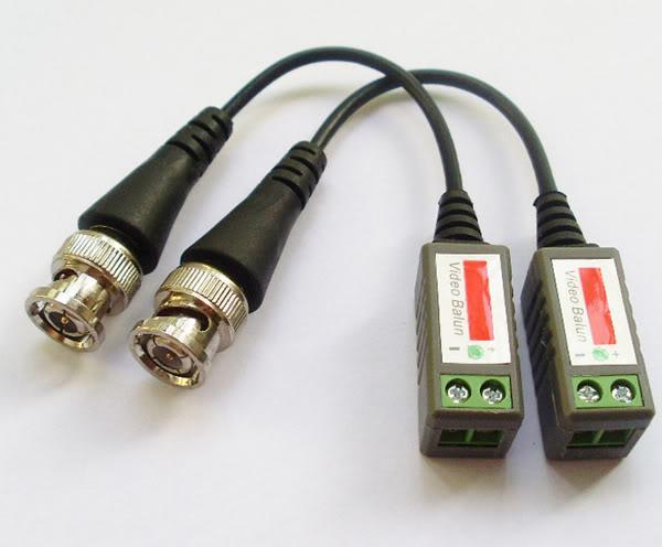Cat5 CAM CCCTV BNC Video Balun Trasmettitore Cavo di buona qualità FeedEx DHL