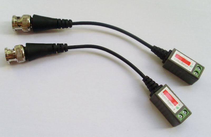 CATT5 CCTV Caméra BNC Vidéo Balun Réseau de câble Réseau Pas d'alimentation requise