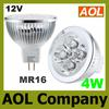 4W MR16 12V White Warm White LED spotlight Lamp Bulb energy saving Spotlight bulbs LED downlight