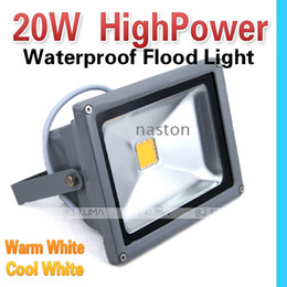 Wholesale Hi Power Led - Hi-bright 20W Led Flood light Led Hi-power 85-265V Waterproof IP 65 outdoor Flood light lamp high quality free shipping