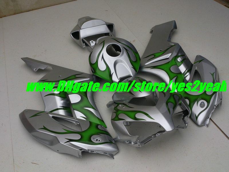 注入型フェアリングボディキットホンダCBR1000RR 04 05 CBR 1000 RR CBR 1000RR CBR1000 2004 2005グリーンフレームフェアリングボディワーク+ギフト