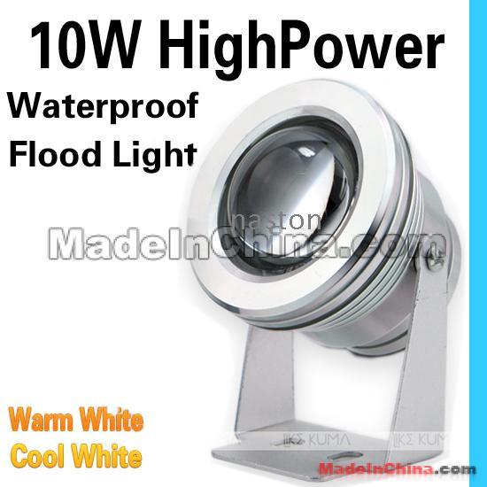 10 W IP 66 à prova de água Led luz de inundação Led brilhante de alta potência 85-265 V lâmpada de luz de inundação à prova d 'água ao ar livre de alta qualidade frete grátis