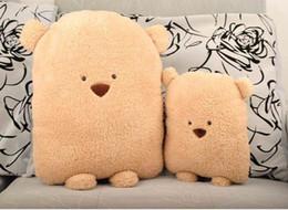 Wholesale April Game - Ziyu- Doug Bear Triangle Bear Hold Plush Pillow Cushion Plush Toys Soft Handfeel