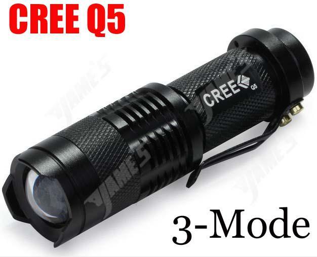 Ultrafire 300lm Cree Q5 Led Camping Flashlight 3 Mode ...