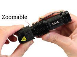 Flashlights branded онлайн-Новый Ultrafire 300LM CREE Q5 светодиодный фонарик кемпинг 3-Режим Факел регулируемый фокус увеличить водонепроницаемый фонари лампы