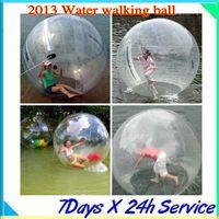 Wholesale Zorb Water Balls - 2013 Zorb Zorbing Walk ball   Water walking ball   Walk on Water Ball 2M PVC 0.8MM Free EMS     DHL Shipping