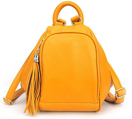 Fashion Leather Backpack Women Can Also Make Kids School Bag And ...