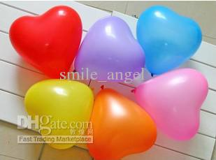 Bruiloft decoraties Mooie bruiloft verdikte ballonnen hart vorm ballonnen romantisch voor voorstel party avors baby speelgoed hom decoraties