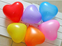 Wholesale Chinese Lanterns Wholesale Heart Shaped - Wedding Decorations Beautiful Wedding Thickened Balloons Heart Shape Balloons Romantic for Proposal Party avors Baby Toys Hom Decorations