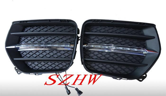 OSRAM led Chips luce di marcia diurna DRL con copertura fendinebbia BMW X6 2008-2013, sostituzione, spedizione veloce