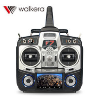Wholesale Helicopter Real Time Image - Walkera DEVO F7 2.4G transmitter 3.5' LCD display and 5.8G FPV Real Time Image Monitor DEVO F7 Body Only