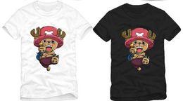 Wholesale Chopper Man - FREE SHIPPING! new fashion t shirt japanese anime one piece tony tony chopper print t shirt 11 design optional 100% cotton 6 color
