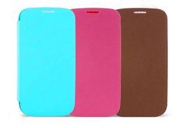 Wholesale S3 Ultrathin - Ultrathin Flip leather case For samsung Galaxy S3 III i9300 mini i8190