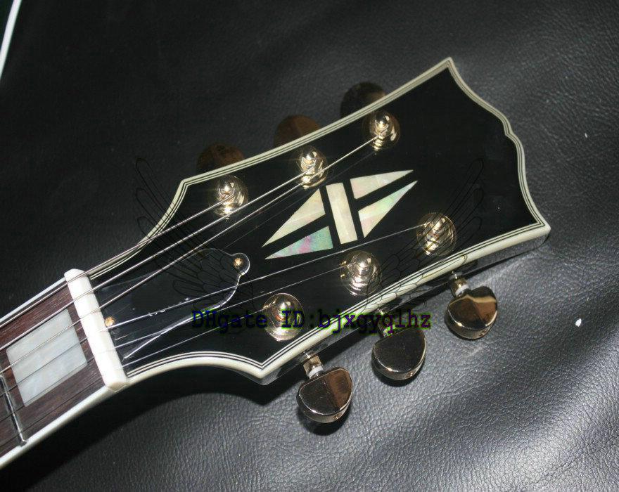 Black Beauty electric guitar Custom shop Black beauty Electric Guitar 3 pickup wholesale guitars from china