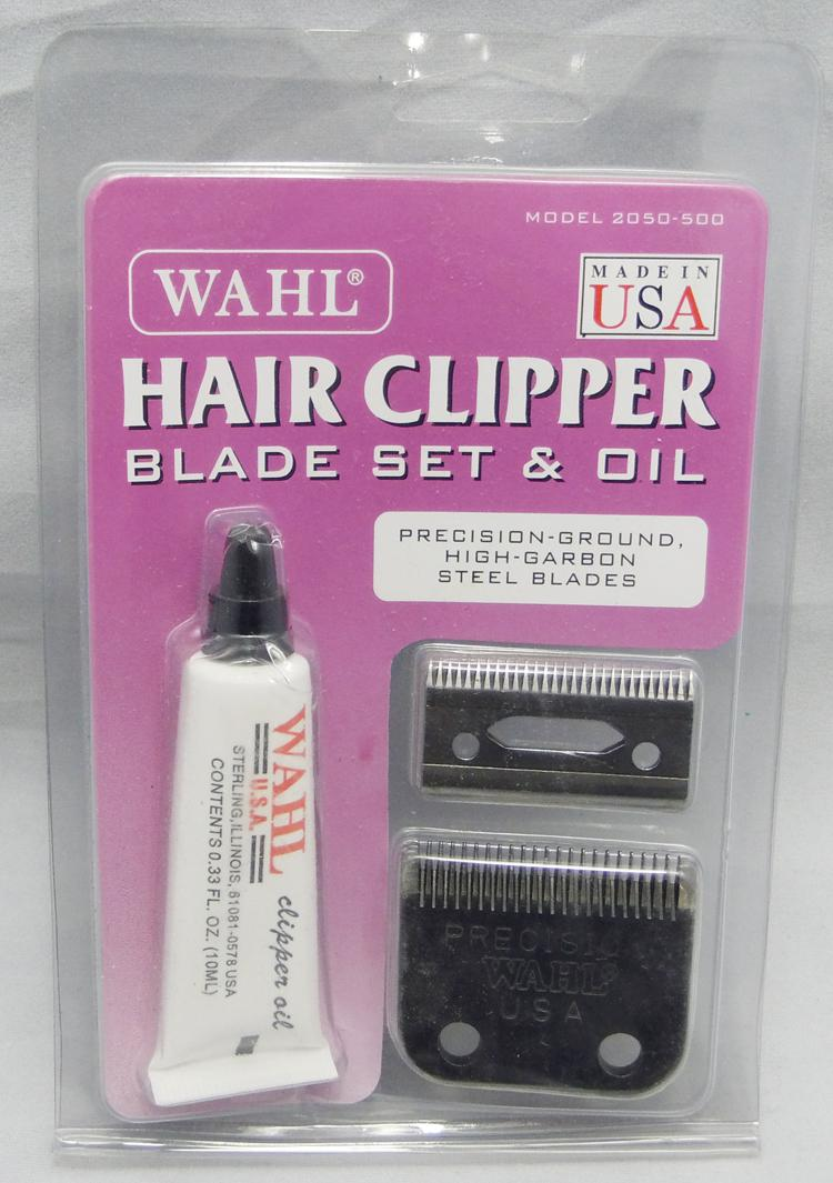 2018 Wholesale Wahl Precision Hair Clipper Blade Set And Oil From