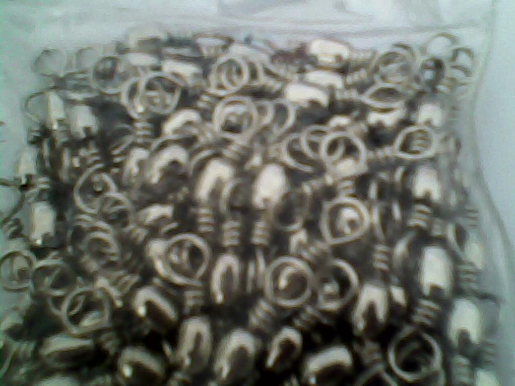 señuelo de pesca barril giratorio 100 unids \ bolsa size4 # -31kg