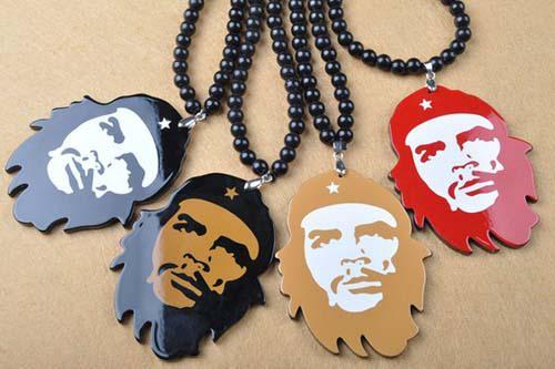 Goodwood Acrylic Guevara Pendant Necklace hip hop jewelry /