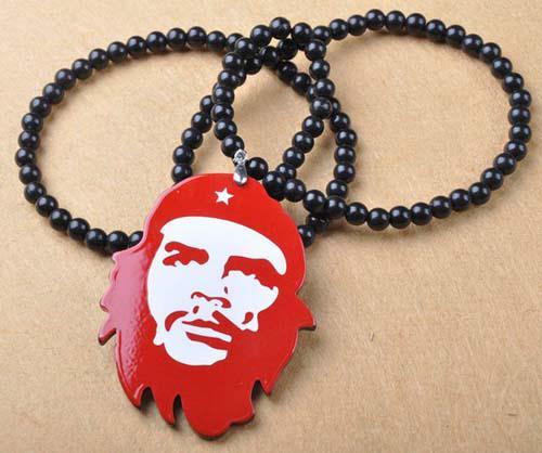 Goodwood Acrylic Guevara Hanger Ketting Hip Hop Sieraden 4 Kleuren /