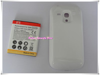 Wholesale S3 Mini Extended Battery - 3500mAh Extended battery with back cover for Samsung Galaxy S3 Mini i8190 50pcs lot