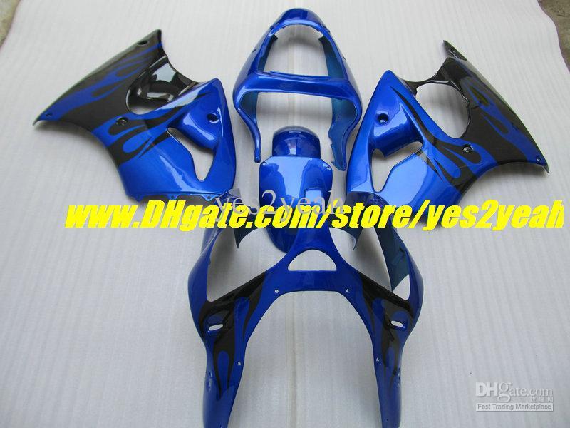 Kit de corps de carénage de moto pour KAWASAKI Ninja ZZR600 05 06 07 08 ZZR 600 ZZR 600 2005 2008 Kit d'injection de carénage