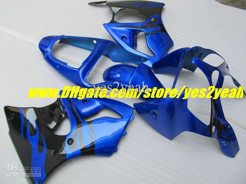 Kit para Carenagem de Motocicleta para KAWASAKI Ninja ZZR600 05 06 07 08 ZZR 600 ZZR 600 2005 2008 Conjunto de Carenagem para Molde de Injeção