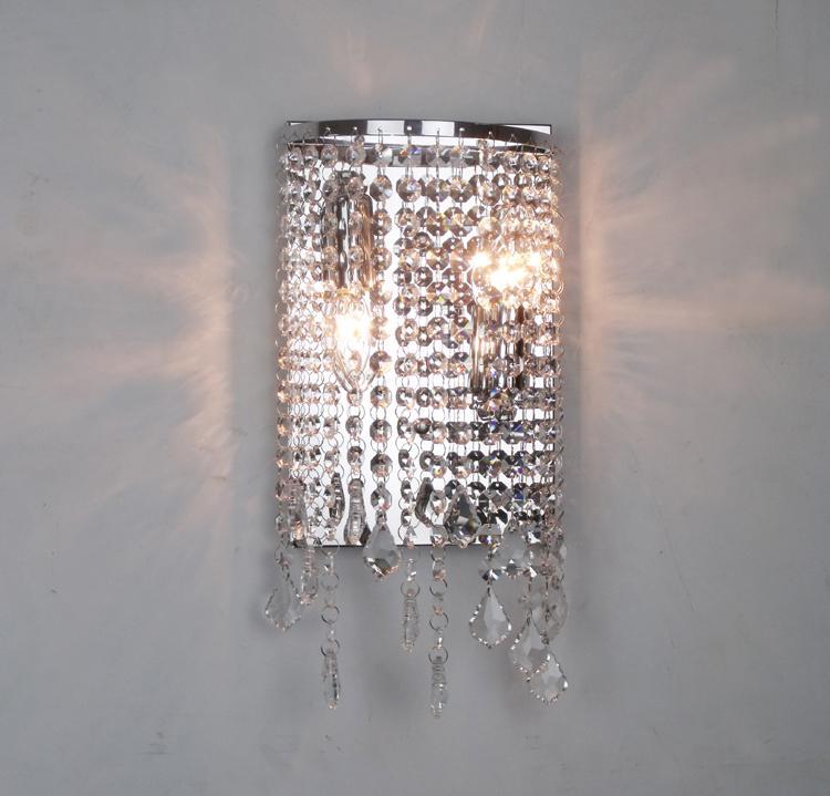 çamaşır yıkama odası kristal duvar ışık kristal lamba LED duvar lambası modern kristal ayna ışık banyo çağdaş duvar lambası