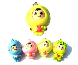 Wholesale Super Mario Toys Accessories - Suddenly Turn Hostile Fruit Dolls Keychain Movies Accessories Toys Children's Gifts