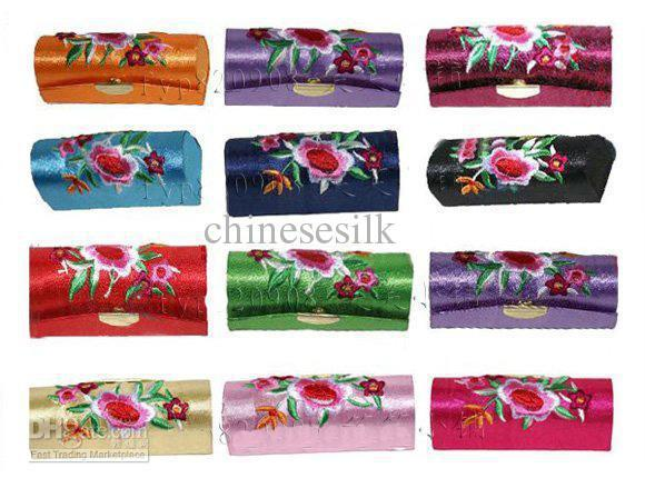 Empty Lipstick Tubes Packaging Lip Balm Tube Containers Embroidered Lip gloss Tubes 12pcs/lot Free