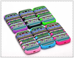Wholesale Retro Aztec Cases - 2013 Fashion Aztec Tribal Tribe Retro Back Case Hybrid 3 in 1 layers Cover for Galaxy S3 SIII i9300