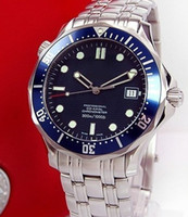 Wholesale Sea Planet - NEW BLUE DIAL SEA 300M PLANET OCEAN STAINLESS STEEL MENS AUTOMATIC MECHANICAL WATCH MEN'S WRISTWATCH
