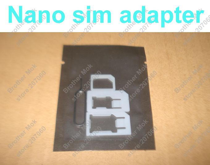 4 في 1 نانو سيم بطاقة محول + بطاقة sim صينية إخراج مفتاح دبوس ، محول مايكرو سيم أرخص آيفون 5 6 زائد 4000 قطع 1000 مجموعة / وحدة