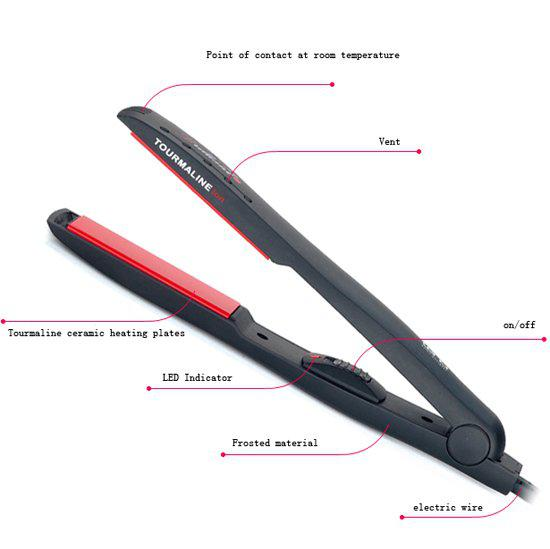 Tourmaline Ceramic Heating Plates Hair Straightening
