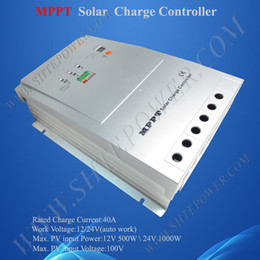 Wholesale Solar Tracer - 40A mppt solar charge controller regulator tracer 4210RN