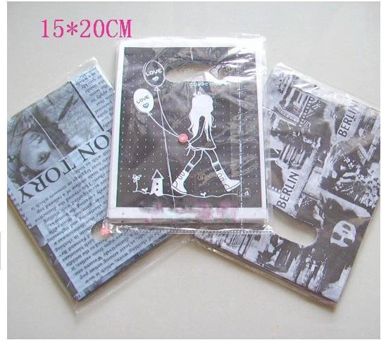 OPP sacs sacs sacs sacs cadeaux sacs bijoux sacs sacs sacs Taille: 15 * 20cm