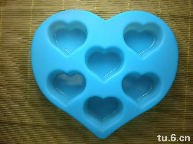 candle moulds heart shaped chocolate silicone cake molds decoration fondant cutter DIY mini soap molds