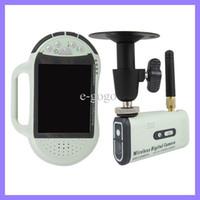 Wholesale Wireless Camera Av Transmitter - 2.8 TFT LCD Pocket Receiver Digital wireless Video Camera Surveillance system 2.4G handheld AV receiver