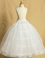 Wholesale Petticoats For Children - Wedding Party Child Ball Gown Petticoat For Flower Girl Dress