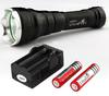 5 Pcs Lot Ultrafire CREE XML T6 1600 Lumens 5-Mode LED Flashlight Torch With Handstrip Rechargeable Flashlight