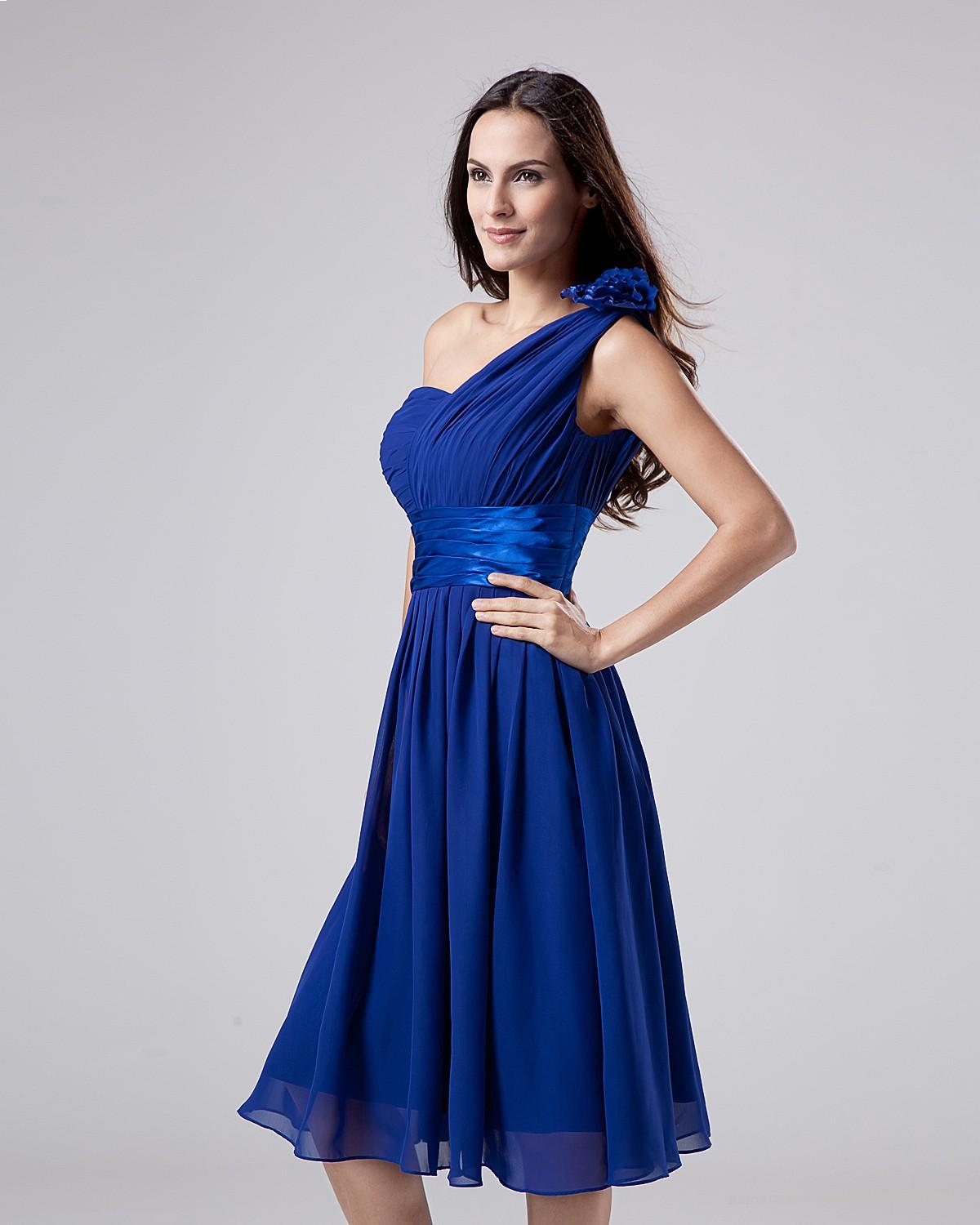 Cheap blue bridesmaid dresses great ideas for fashion dresses 2017 cheap cheap blue a line bridesmaid dresses one shoulder sleeveless ombrellifo Choice Image
