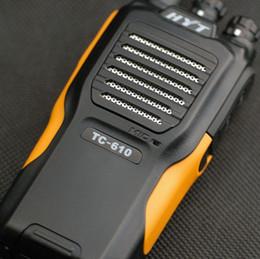 10pcs / lot DHL Freeshipping + 5Watts + Li-Ionbatterie + Fernbereich TC-610 TC610 Radio 2 Weg HYT Radio FM Radio von Fabrikanten
