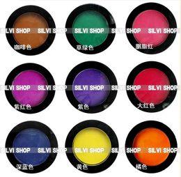 Wholesale Hair Chalk Rub Bugs - Hot sell Hair Color Pen Temporary Hair Pastel Chalk Bug Rub Eye Shadow Hair Chalk 9 Colours For Option