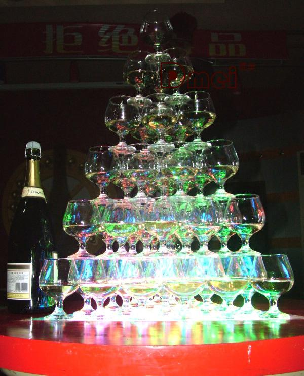 Marca LED novo Flash Light cubos de gelo cristal cubo flash de cor gelo luz para o casamento de Natal Festa Bar /