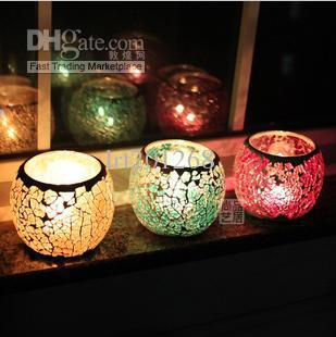 Handmade Mosaic Glass Candle Holder Trumpet Tealight Glass Candle Holders Tealight Wall Candle Holders From Lrt201268 $36.09| Dhgate.Com : mosaic candle sconces - www.canuckmediamonitor.org