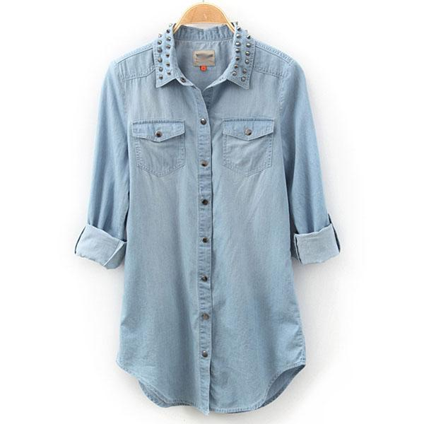 Shop for denim shirts for women online at Target. Free shipping on purchases over $35 and save 5% every day with your Target REDcard.