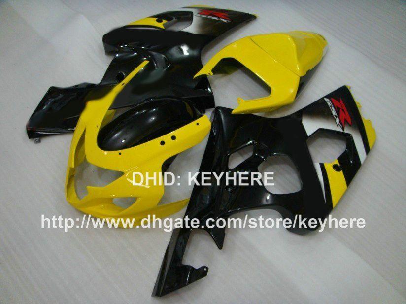 Kit de carenagem ABS para SUZUKI GSX-R 600/750 04 05 GSX R600 R750 04 05 GSXR600 2004 2005 k4 carenagem